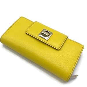 KATE SPADE Leather Wallet yellow